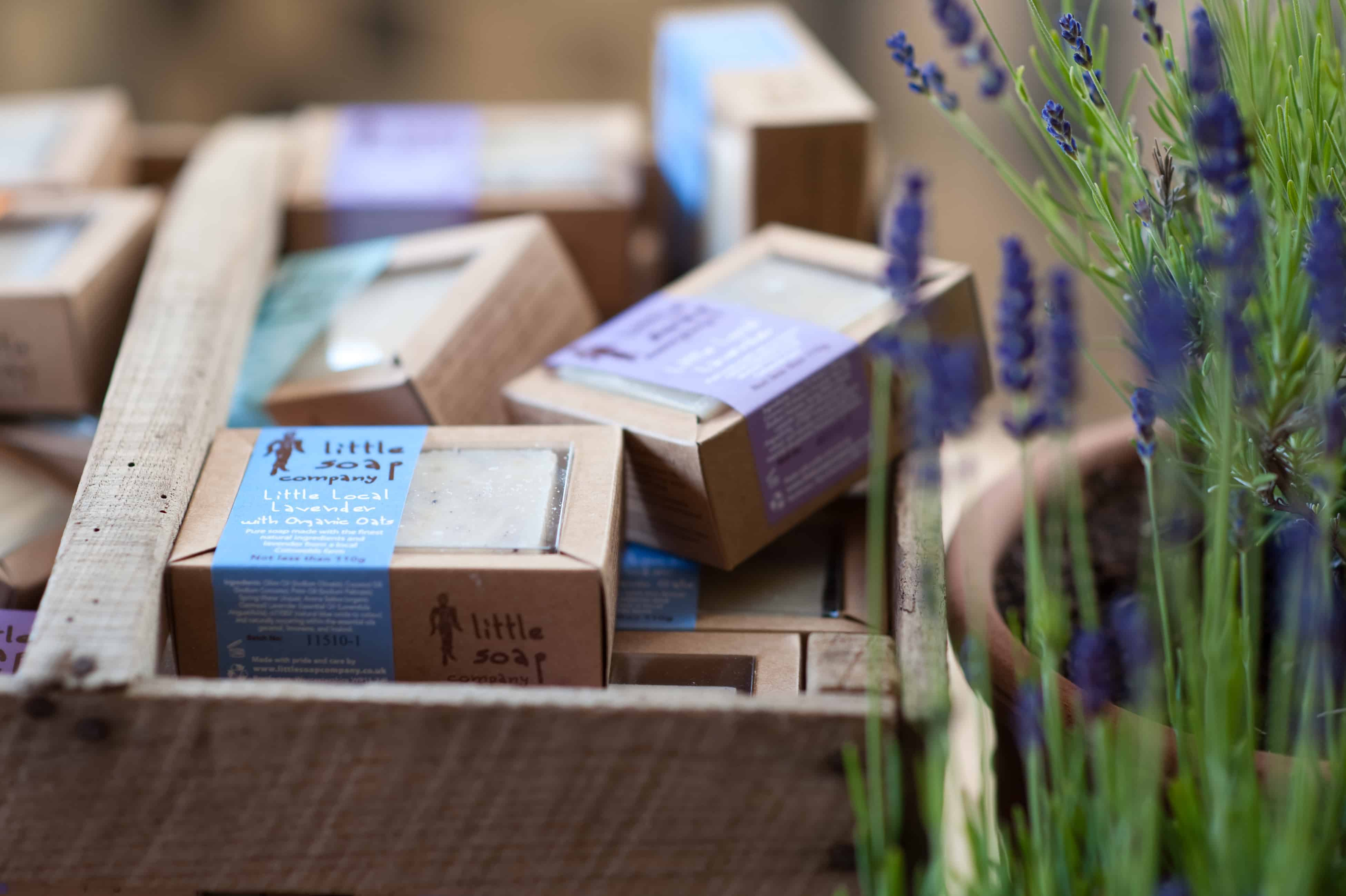Lavender Collection in trug