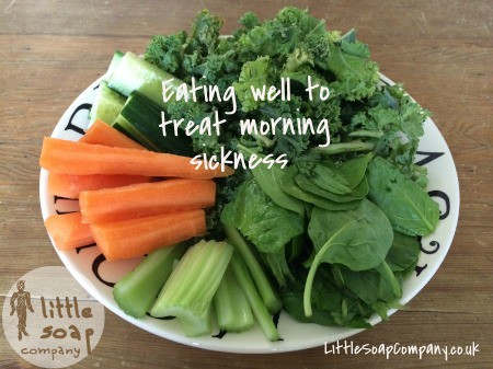 eating well to treat morning sickness~ LittleSoapCompany.co.uk