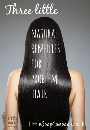 Three little natural remedies for problem hair~ LittleSoapCompany.co.uk