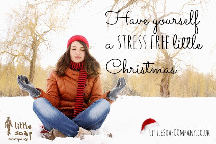 Have yourself a stress free little Christmas~ LittleSoapCompnany.co.uk