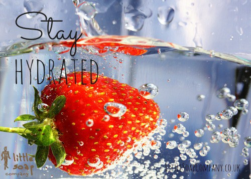 stay hydrated~ LittleSoapCompany.co.uk