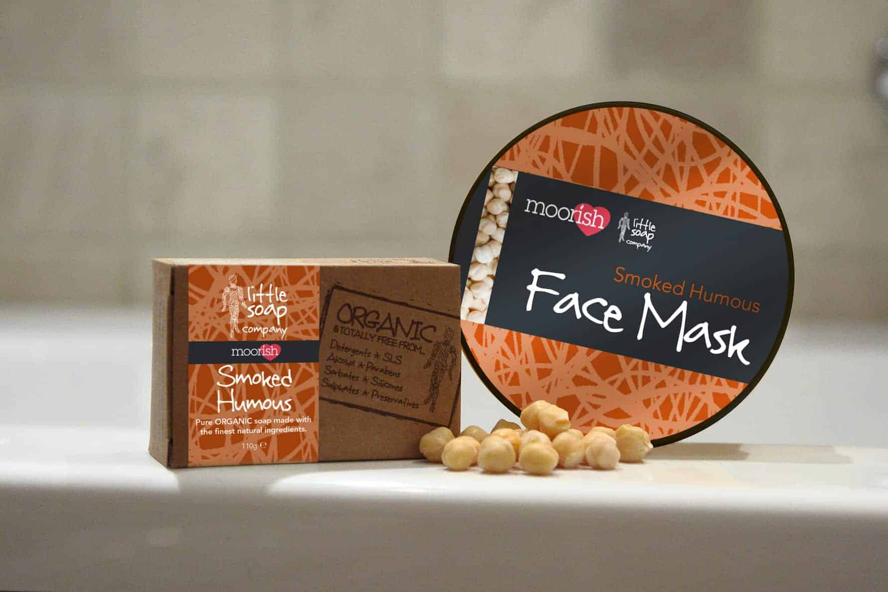April Fool Soap and Facemask