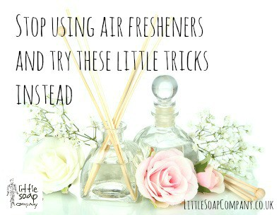 Stop using air fresheners and try these tricks instead~ LittleSoapCompany.co.uk