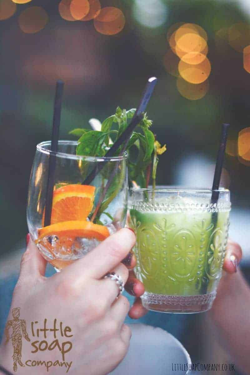Three All Natural Mocktails to Enjoy Right Now-LittleSoapCompany.co.uk