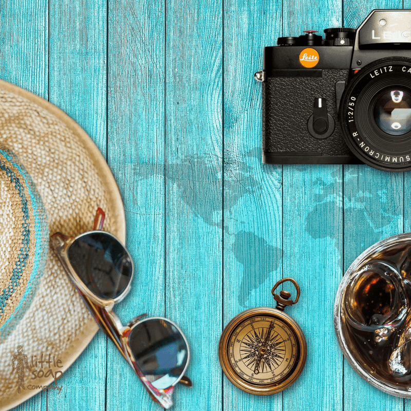 Three Little Tips for Healthy Travel This Summer_LittleSoapCompany.co.uk