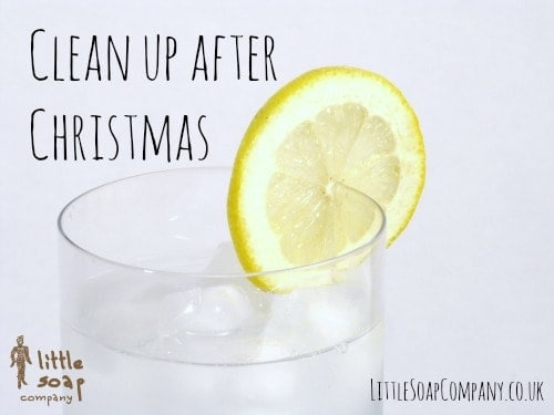 Clean up after Christmas~ LittleSoapCompany.co.uk