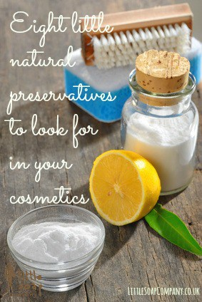 Eight little natural preservatives to look for in your cosmetis~ LittleSoapCompany.co.uk