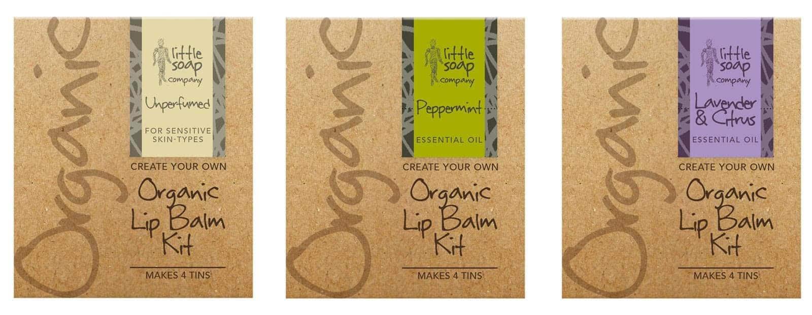 Introducing Three Little Lip Balm Kits_LittleSoapCompany.co.uk