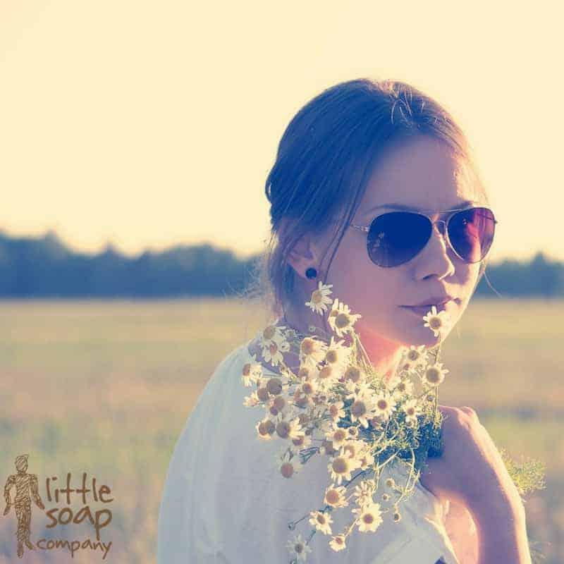 Green Summer Skin Care Routine for Sensitive Skin_LittleSoapCompany.co.uk