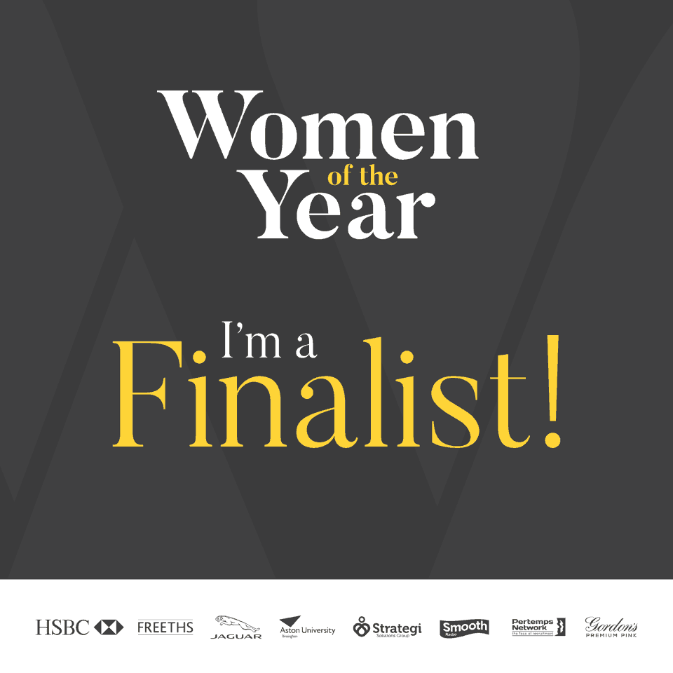 I'm a Finalist in the Business Woman of the Year awards_LittleSoapCompany.co.uk