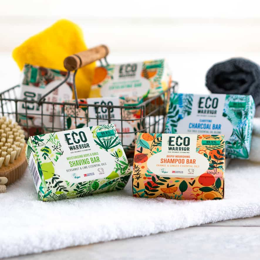 The Eco Warrior Range Helps You to Reduce Plastic Usage_LittleSoapCompany.co.uk